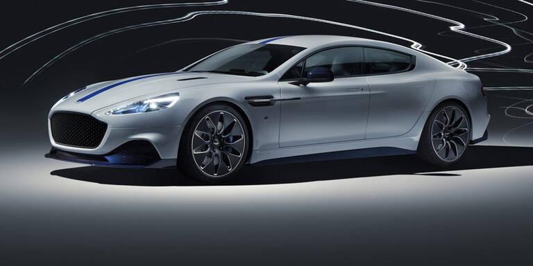 Das ist der erste elektrische Aston Martin