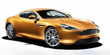 Aston Martin Virage in Genf 2011