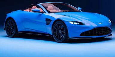 Aston Martin bringt den Vantage Roadster