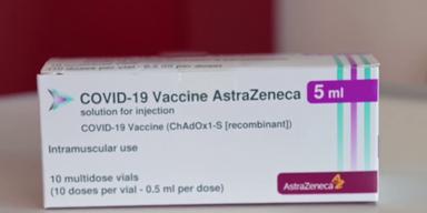 AstraZeneca-Verpackung