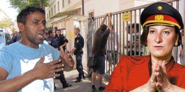 Asyl: Kirche greift Ministerin an