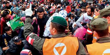 Österreich bei Asyl pro Kopf 2. in EU