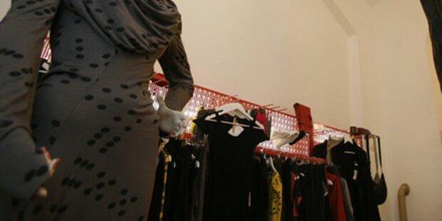 Verkäuferin stahl Mode um 40.000 Euro