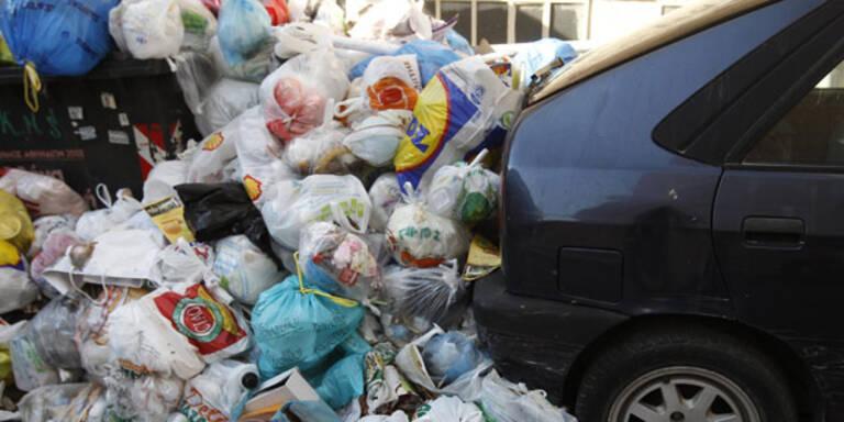 Athen: Seuchengefahr wegen Müllstreik