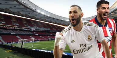 Altetico prallt im Madrid-Derby auf Real