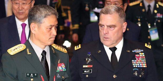 USA und Russland halten Manöver nahe Nordkorea ab