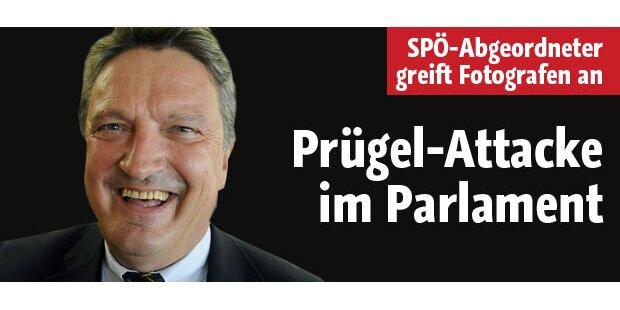 SPÖ-Abgeordneter attackiert Fotografen