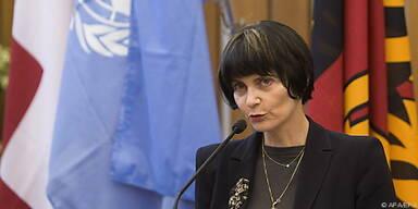 Außenministerin Calmy-Rey zeigt sich skeptisch