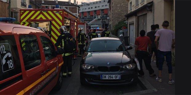 Molotowcocktail fackelt Pariser Restaurant ab
