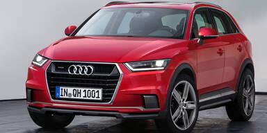 Neuer Audi Q1 kommt auch als Hybrid