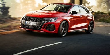 Audi greift noch einmal mit einem RS3 an