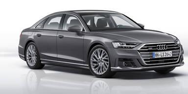 Audi schärft den neuen A8 nach