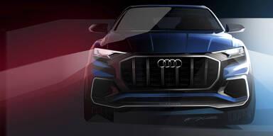 Audi Q8: Großes SUV-Coupé im Anflug