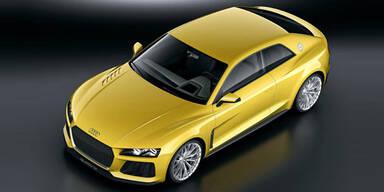 Audi zeigt den Sport quattro concept