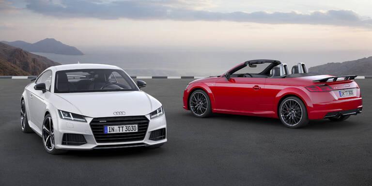 Audi schärft den TT (Roadster) nach