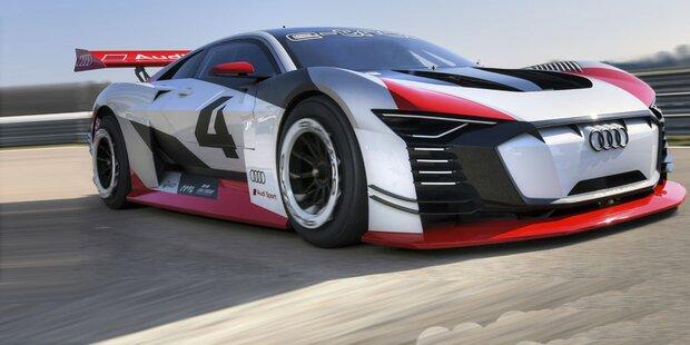 Audi baut spektakulären E-Sportwagen
