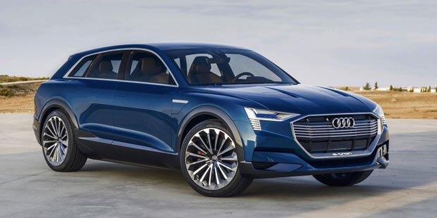 Grünes Licht für Audis Elektro-SUV