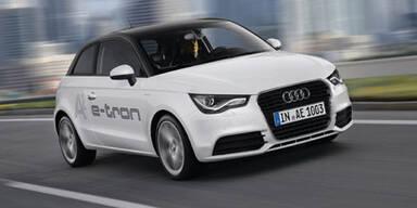 Elektroautos von VW & Audi kommen
