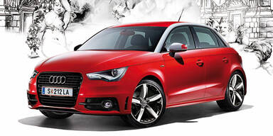 Audi A1 Edition für den Life Ball 2014