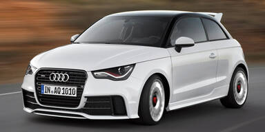 Die spinnen: Jetzt kommt der Audi A1 quattro