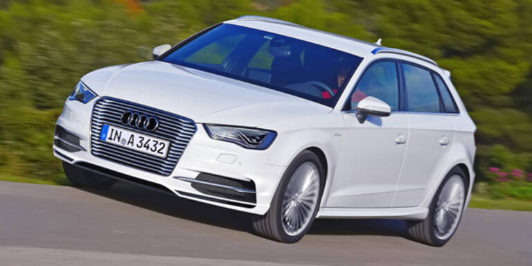 Audi bringt A3 Sportback für die Steckdose