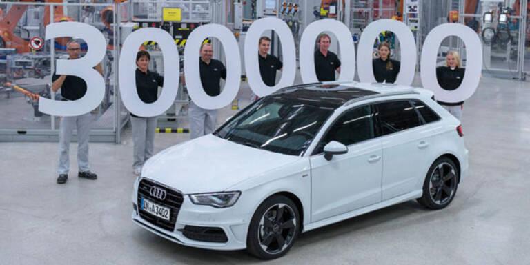 Jubiläum: Audi hat 3 Millionen A3 gebaut