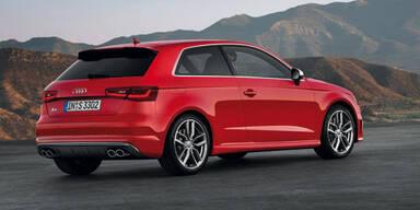 Weltpremiere des neuen Audi S3