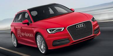 Audi zeigt den A3 mit Hybrid-Antrieb