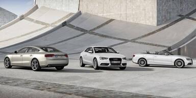 Facelift für Audi A5 und S5