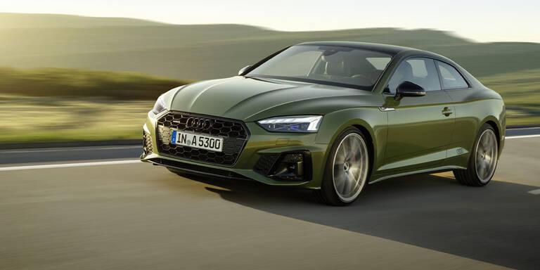 Audi verpasst der A5-Reihe ein Facelift