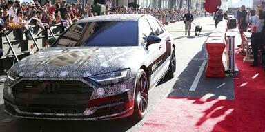 So sieht der neue Audi A8 aus