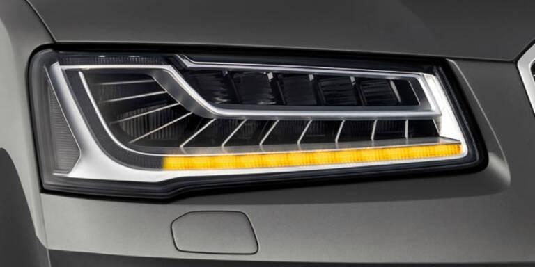 Neuer Audi A8 kommt mit Super-LED-Licht