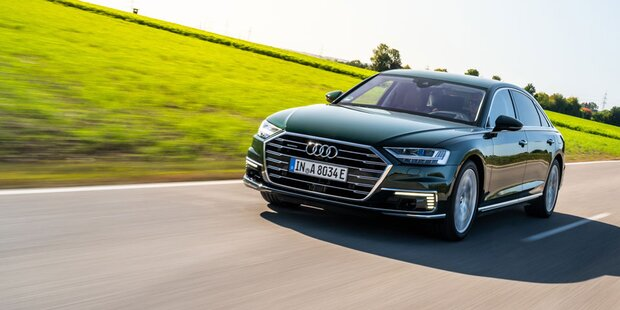 Audi bringt den A8 mit Plug-in-Hybrid