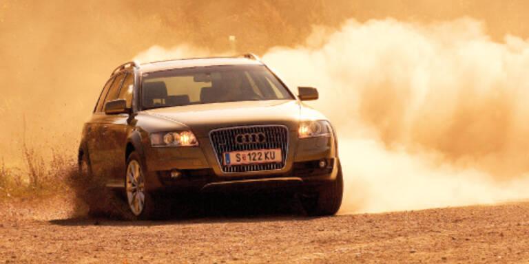 Drei neue Allrad-Kombis von Audi, BMW und Mercedes