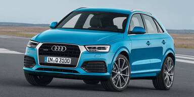 Audi verpasst dem Q3 ein Facelift