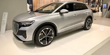 Audi Q4 e-tron & Seat Born vorab in Wien zu sehen