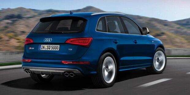 Audi stellt Top-Modell SQ5 TDI vor