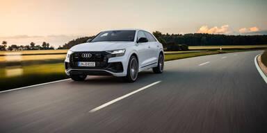 Audi bringt den Q8 mit Plug-in-Hybridantrieb