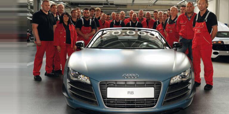 Audi hat bereits 20.000 R8 gebaut