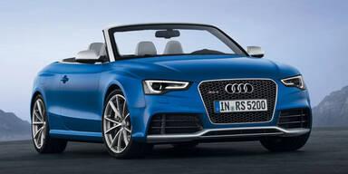 Audi lässt das RS 5 Cabrio von der Leine