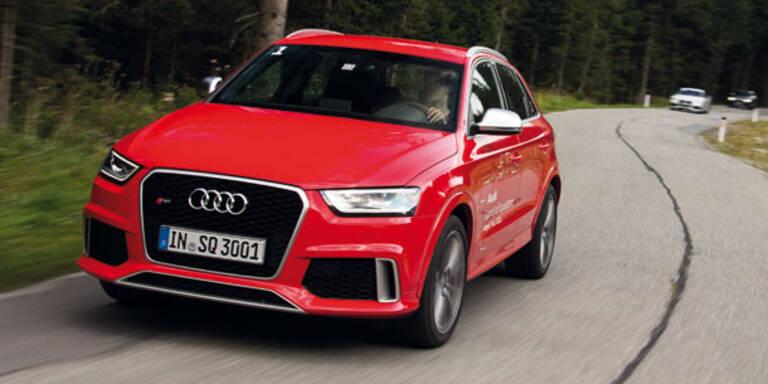 Audi bringt den RS Q3 an den Start