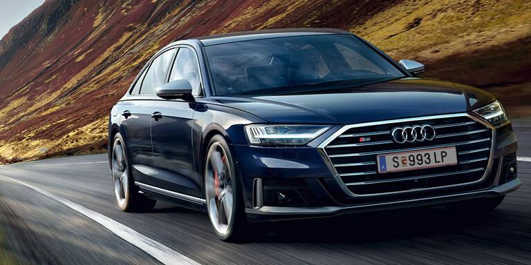 Audi greift mit dem neuen S8 an