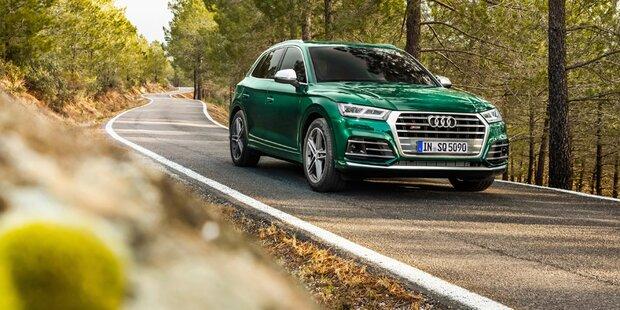 Audi greift mit dem neuen SQ5 TDI an