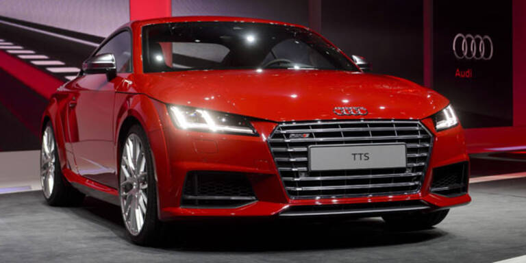 Alle Infos vom neuen Audi TT (2014)