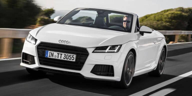 Neuer Audi TT Roadster startet