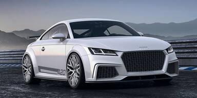 So kommt der neue Audi TT RS