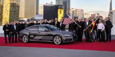Selbstfahrender Audi erreichte Ziel