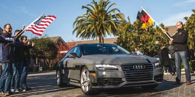 Selbstfahrender Audi fährt rund 900 km