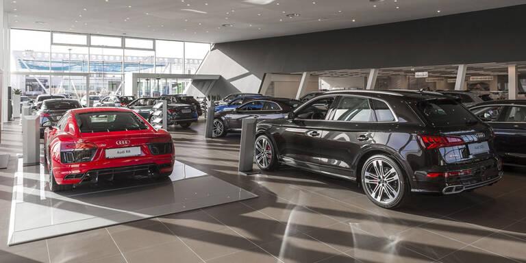 Größtes Audi-Zentrum Österreichs eröffnet