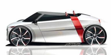 Audi urban concept kommt auch als Spyder